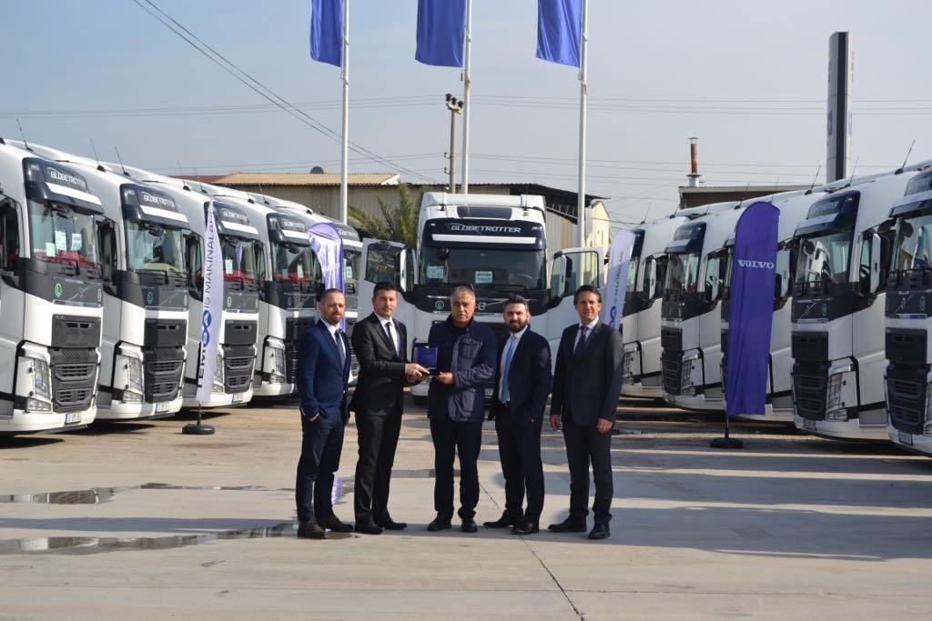 ARI-HAN Group'a 15 Volvo Trucks