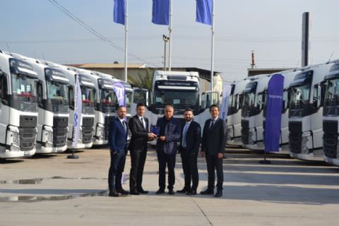 ARI-HAN Group'a 15 Volvo Trucks